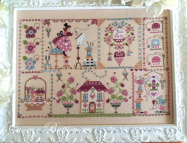 Cuore é Batticuore - Stitching in Quilt