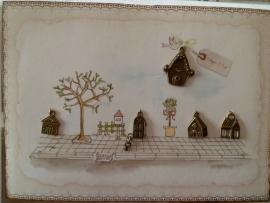 Clayre & Eef Bedelkaart Home Sweet Home