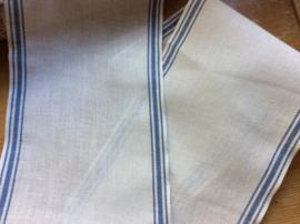 V&H band Offwhite blauwe rand 17 cm.