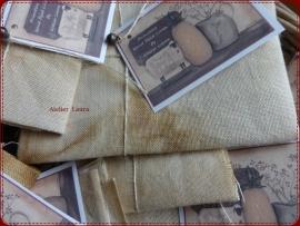 Primitive HandDyed Linen 14 drds