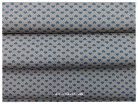 Stofje Vintage Blauw Hartje A