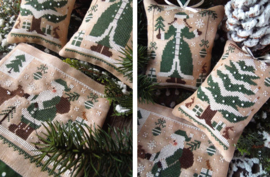 The little stitcher - Green Christmas