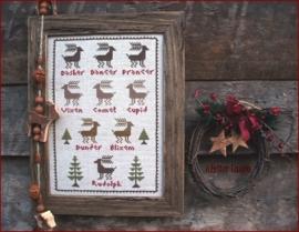 The Little Stitcher Santa's Rendeer