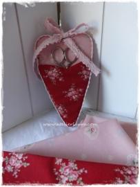 Yuwa Shabby Pink Harts