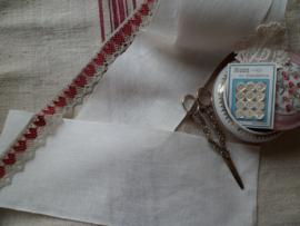 V&H borduurband Offwhite 16 cm 14 draads