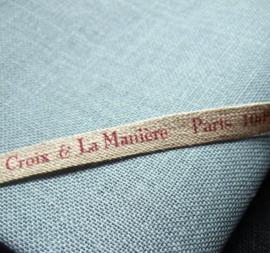 Borduurlinnen Milpoint - La Croix & La Manière