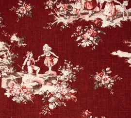 Red Toile Man