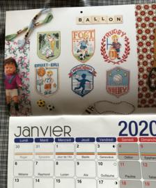 Création point de Croix agenda 2020