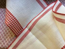 V&H band Offwhite-rood 20 cm