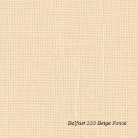Zweigart Belfast Kleur 233 Beige Foncé