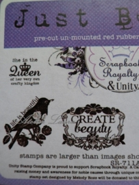 Stempel Just Be You