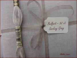 Zweigart Belfast Smokey Grey 7033
