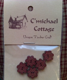 C` Michael Cottage Buttons