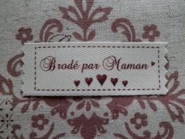 CD Brodé par Maman