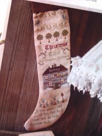 "The Primitive Hare ""Christmas Carol Sock"""