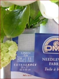 DMC borduurlinnen 11 drds Kleur 312 Large