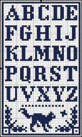 Klein Alfabet Poes
