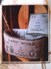 Primitive Lady Basket