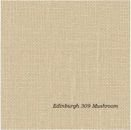 Zweigart Edinburg  309 Mushroom/Light Mocca
