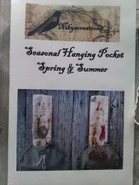 Seasonal Hanging Pocket Spring & Summer