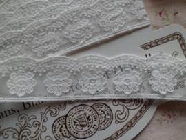 Clayre & Eef Grote kaart LI065XL Geschulpt bloemetje