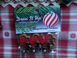 Dress it Up Gingerbread Cookies