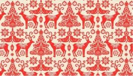Makower Kerst Rood VIII