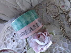 Vintage masking tape Rose - Groen