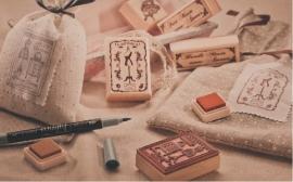 Houten stempel Atelier Couture