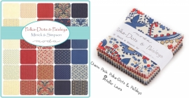 Charm Pack Polka-Dots & Paisleys