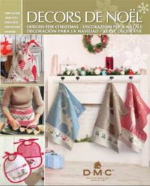 Boek Decors de Noël DMC 2017