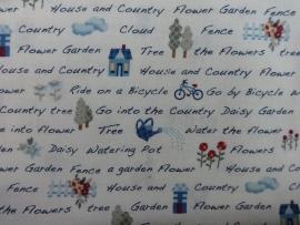 Lecien American Country FlowerHouse Garden
