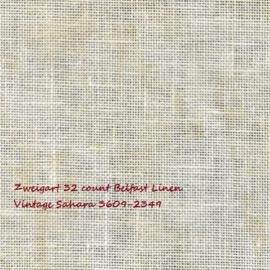 Zweigart Belfast Vintage Sahara 2349