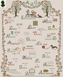 Sara Guermani - Embroidery ABC Engels