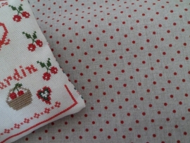Zweigart Belfast Petit Point Rouge
