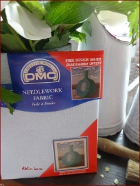 DMC borduurlinnen 11 drds Kleur 312