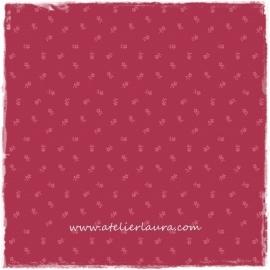 Makower Stofje Roze Rood IV