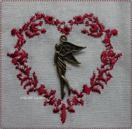 Bedel bronskleurige engel