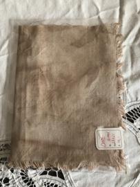 HandDyed linnen 12 drds Old Sage 23 x 21 cm