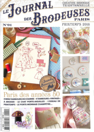 Le Journal des Brodeuses Paris N°1