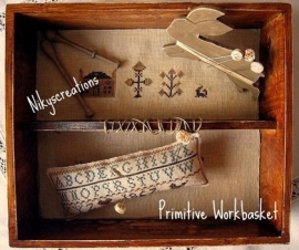 Niky Creations Primitive Workbasket