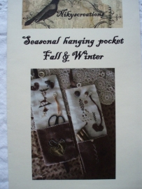 Seasonal Hanging pocket Fall & Winter