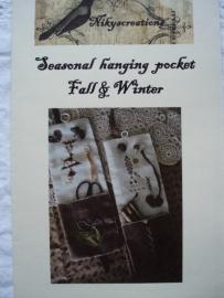 Seasonal Hanging pocket Fall & Winter