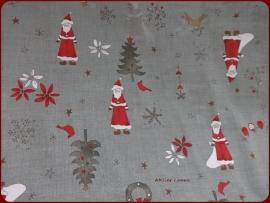 LC Vintage kerst Grijs/Groen II