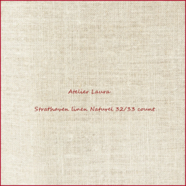 Legacy linen Strathaven Natural - 32/33 count