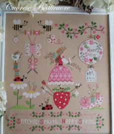 Cuore e Batticuore - Stitched Spring -Happy Spring