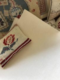 La Croix & La Maniere borduurlinnen Off-White