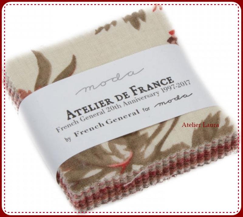 Atelier de France French General Mini Charmpack