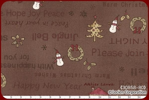 LC Vintage kerst Bruin