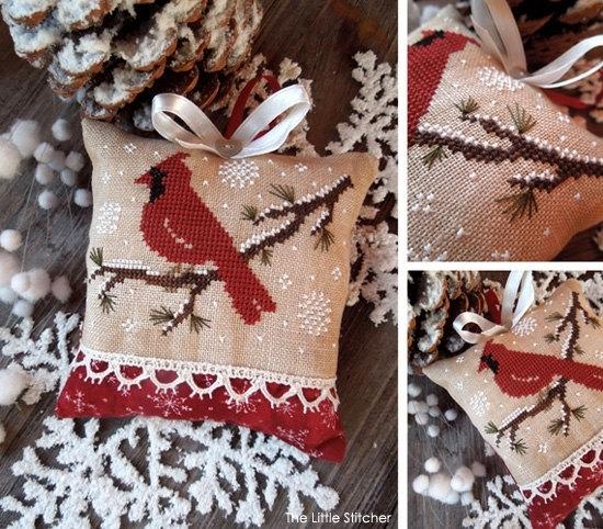 The Little Stitcher Little Red Bird